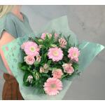 Boeket Camille,  large gebonden - roze