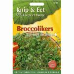 Broccolikers - Knip en eet
