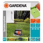 Sprinklersysteem GARDENA met verzonken sproeier os 140