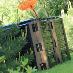 Compostsysteem zwart 800 liter - 2 vaten