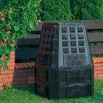 Compostvat zwart 850 liter