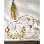 Decoratie cirkel op voet met verdeling - 55 x 9 cm