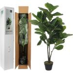 Kunstplant Ficus Lyrata 120 cm