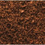 Gekleurde houtchips - bruin 50 liter