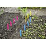Plantenlabels gekleurd