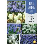 Geschenktas mix 'Garden Blue' (125 stuks)
