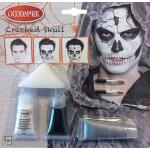 Halloween make-up kit skelet