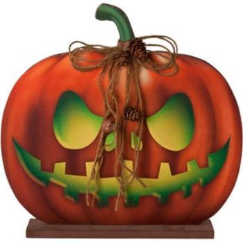 Pompoen En Halloween.Halloween Pompoen Op Voet