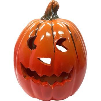 Pompoen Halloween.Halloween Theelichthouder Pompoen