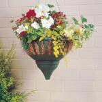 Hanging basket met waterreservoir