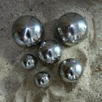 Spiegelbollen inox (6 stuks)