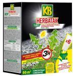 Herbatak totale onkruidbestrijding voor paden - 6 tubes