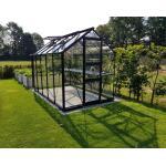 Hobbykas Burford 106 zwart - 194 x 318 x 230 cm - 6,2 m²