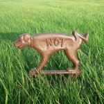 Hondenbordje gietijzer niet plassen
