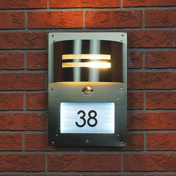 huisnummer verlichting huisnummer