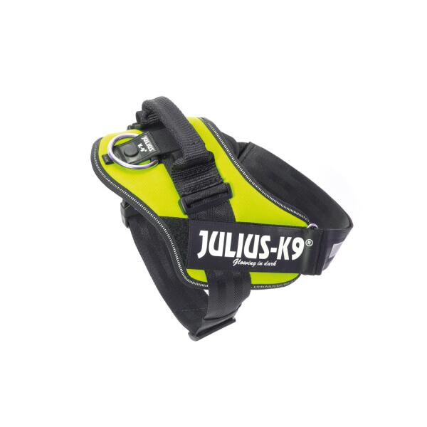 JULIUS K9 hondentuig neon groen - medium