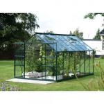Kweekkas Jupiter 11500 - aluminium GROEN 11,5 m² + gratis fundering