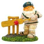 Tuinkabouter Woody speelt cricket 22 cm