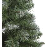 Kerstboom kunststof Norton frosted - 45 x 20 cm