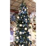 Kerstboom kunststof Slim 210 cm