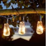 Lichtslinger Eureka op zonne-energie - 10 bulbs - 380 cm