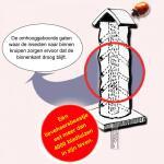 Lieveheersbeeststammetje op paal