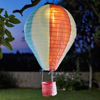 luchtballon met ledverlichting