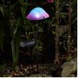 Magische paddenstoel - ledverlichting solar