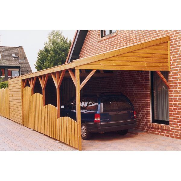 maud carport 300 cm x 600 cm met montage