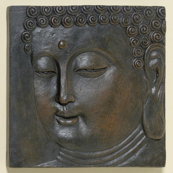 muurdecoratie buddha decoratief buddha beeld