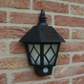 Muurlamp met bewegingssensor kopen - muurverlichting solar ...