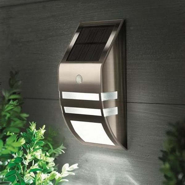 Muurlamp met bewegingssensor kopen - muurverlichting op zonne ...