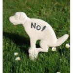 NO hondenpoep (wit)