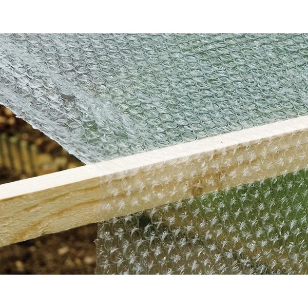 bubbelfolie op rol 5 x 1 m kopen vorstgevoelige planten beschermen vorstbescherming. Black Bedroom Furniture Sets. Home Design Ideas