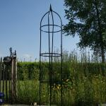 Obelisk metaal 200 cm