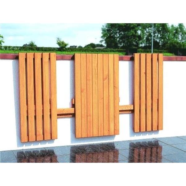Opklapbare balkonset kopen   tafel met bankjes voor de kleine ruimte