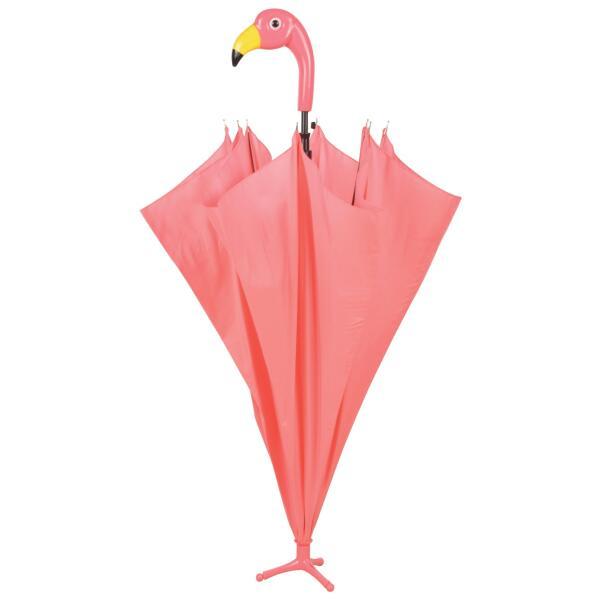 Paraplu met flamingo handvat roze paraplu die op zichzelf staat - Eigentijdse interieurdecoratie ...