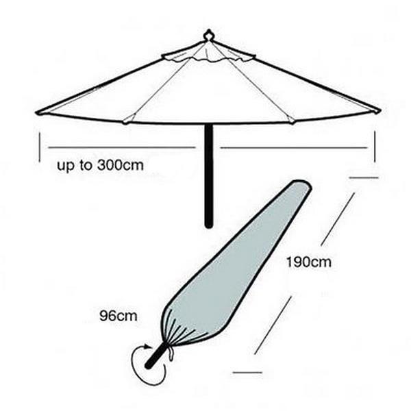 stevige parasol wind