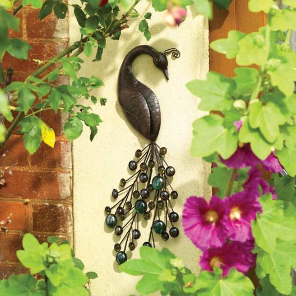 Decoratie om aan de muur te hangen in huis of buiten in de for Decoratie vlinders voor in de tuin
