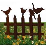 Perkhekje met vier vogels - decoroest