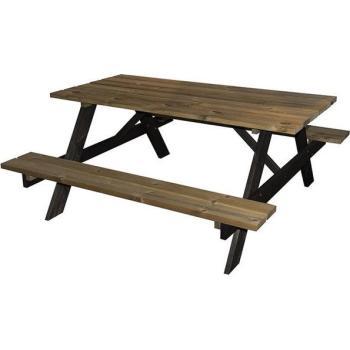 Uitgelezene Aanbieding houten picknicktafel - bierbank in grenenhout | Stoelen YD-35