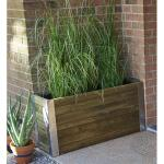 Plantenbak BAMBOU - grenenhout - 106 liter