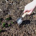 Plantschop gesmeed - 34 cm