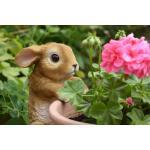 Pothanger konijn - 14 x 11 x 21 cm
