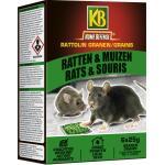 Ratten- en muizengif RATTOLIN GRAIN B - 150 g