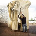 Reuzehoes vorstgevoelige planten 2,5 x 3,6 m