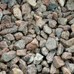 Schots graniet split 8/16 ca. 0,7 m³