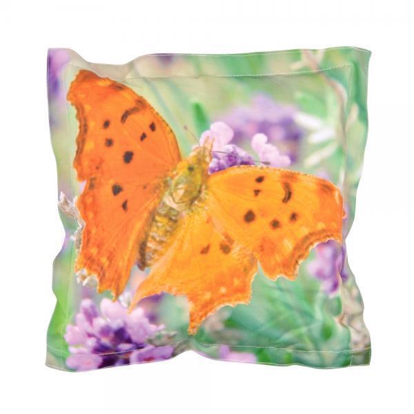 Zitkussen voor buiten kopen - kussen met vlinderprint