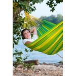 Eénpersoonshangmat Sonrisa outdoor - limoengroen