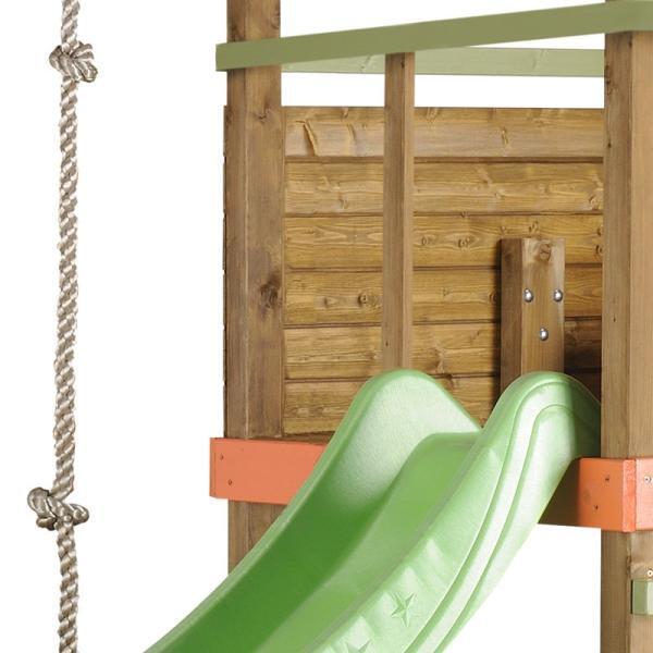 Leuk tuinportiek voor kinderen speeltuigen in hout - Toren voor pergola ...